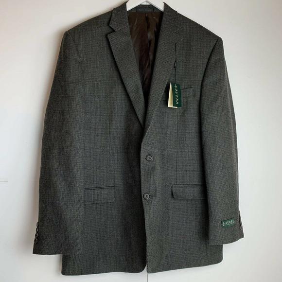 Lauren Ralph Lauren Wool Mens Suit Coat